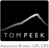 Tom Peek Park City Real Estate Logo